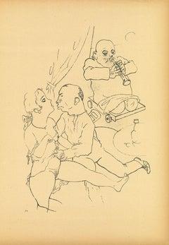 Serenade by George Grosz - 1923