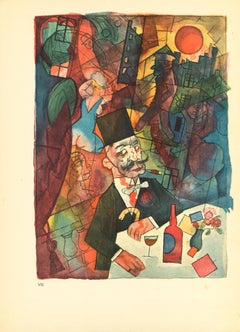 The White Slaver - by George Grosz - 1923