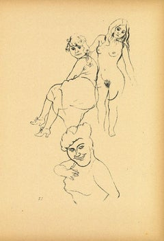 Youth - by George Grosz - 1923