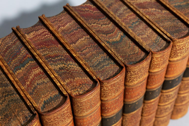 From the earliest period to the close of the generation contemporary with Alexander the great. With portrait, maps, and plans. Bound in full tan polished calf, marbled edges, raised bands, ornate gilt on spines.  Published: London: John Murray