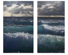 Ocean Emotion Diptych