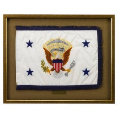 George H W Bush Vice-Presidential Limousine Flag, circa 1981-1989