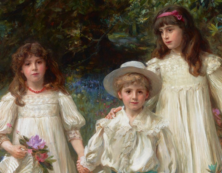 Muriel, Cynthia and George by George Harcourt For Sale 2