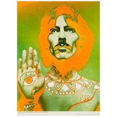 George Harrison Original Vintage Poster by Richard Avedon, 1967