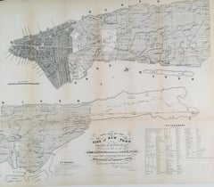 Map of City of New York and Island of Manhattan