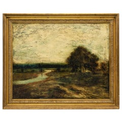 George Henry Bogert, Oil On Canvas Landscape Painting.