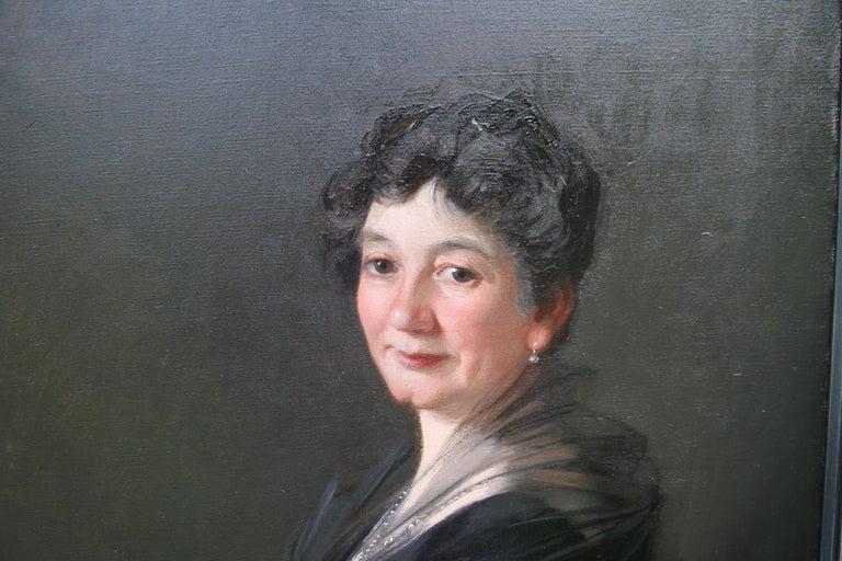 Portrait of a Woman - Scottish 1920s art 'Glasgow Boy' artist  oil painting  1