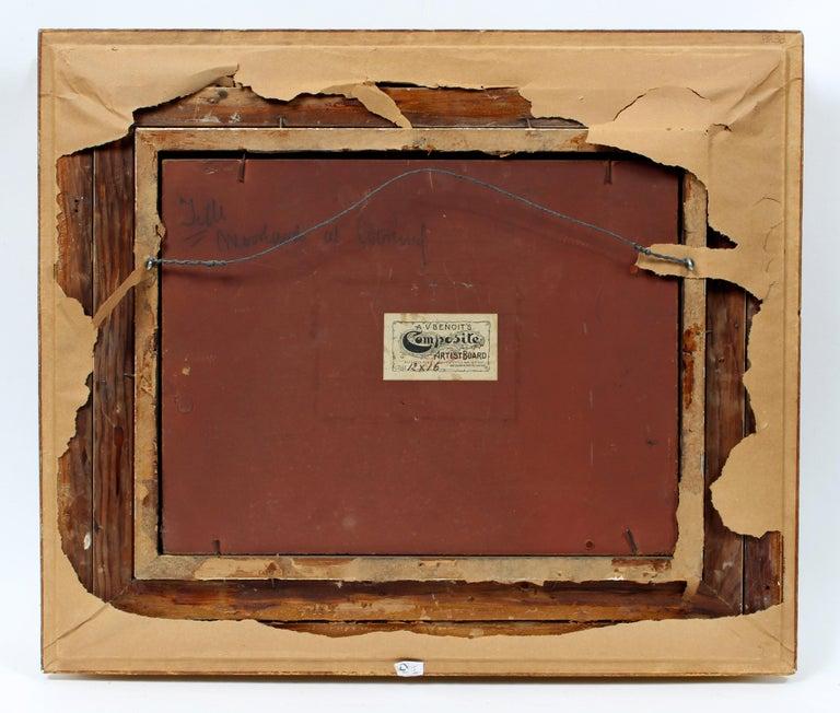 George Herbert McCord Hudson River Luminous Tonalist Oil Painting Moorlands 3