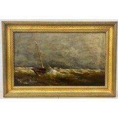 George Herbert McCord Original Oil Painting 19th c.