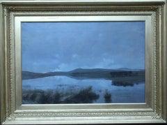 Scottish Loch - Scottish Victorian Impressionist art landscape oil painting