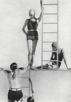 Lelong Beachwear with Horst and models