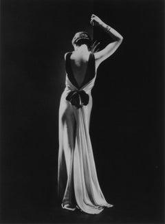 Toto Koopman in a dress by Augusta Bernard, Paris