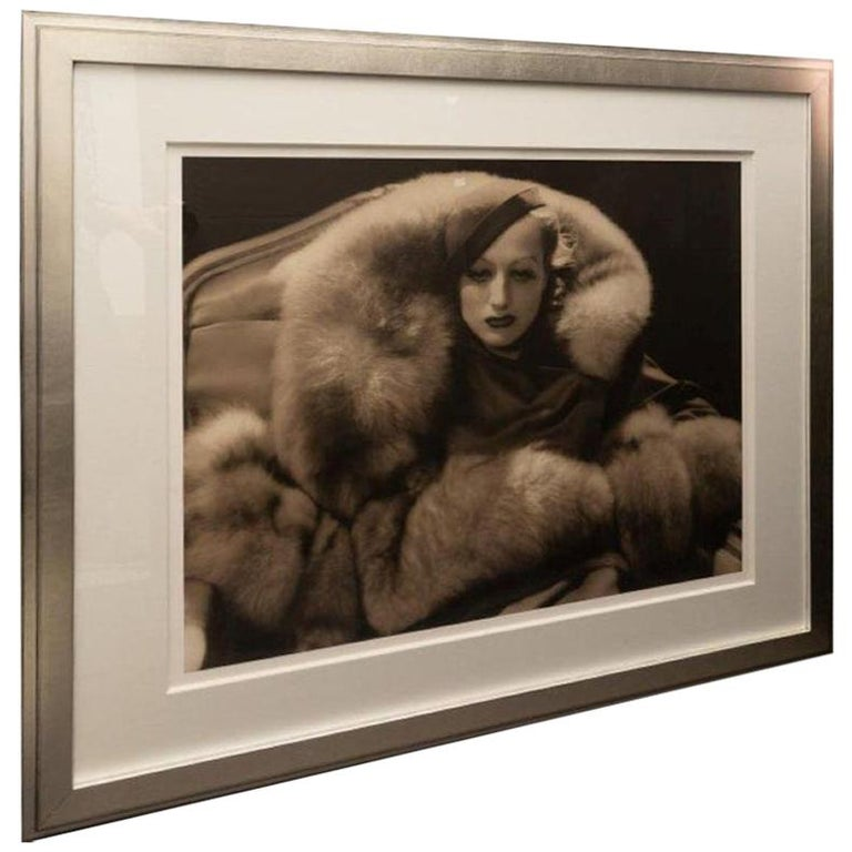 George Hurrel Photograph of Joan Crawford For Sale