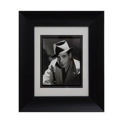 George Hurrell Original Signed Photograph of Hollywood Actor Humphrey Bogart