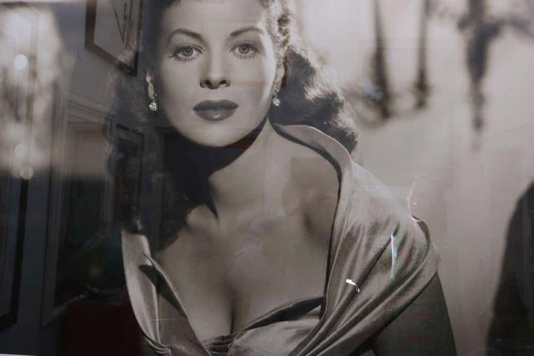 George Hurrell Photograph, Maureen O'hara, 1946 In Good Condition For Sale In West Palm Beach, FL