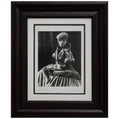 George Hurrell Photograph of Hollywood Actress Greta Garbo