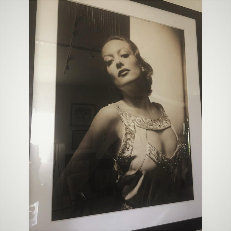 Hand-Crafted George Hurrell Photograph of Joan Crawford