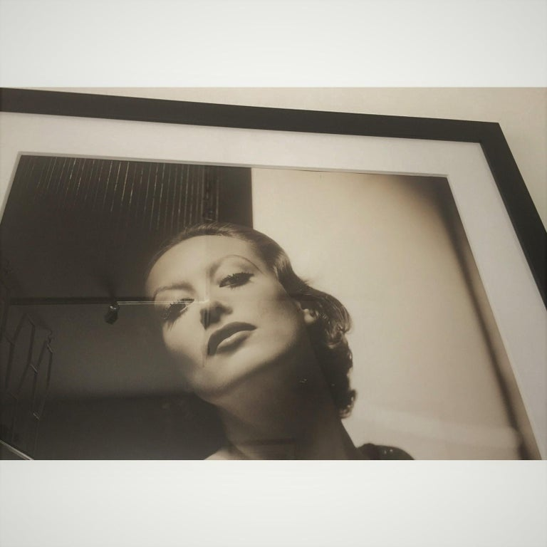 George Hurrell Photograph of Joan Crawford In Good Condition In West Palm Beach, FL