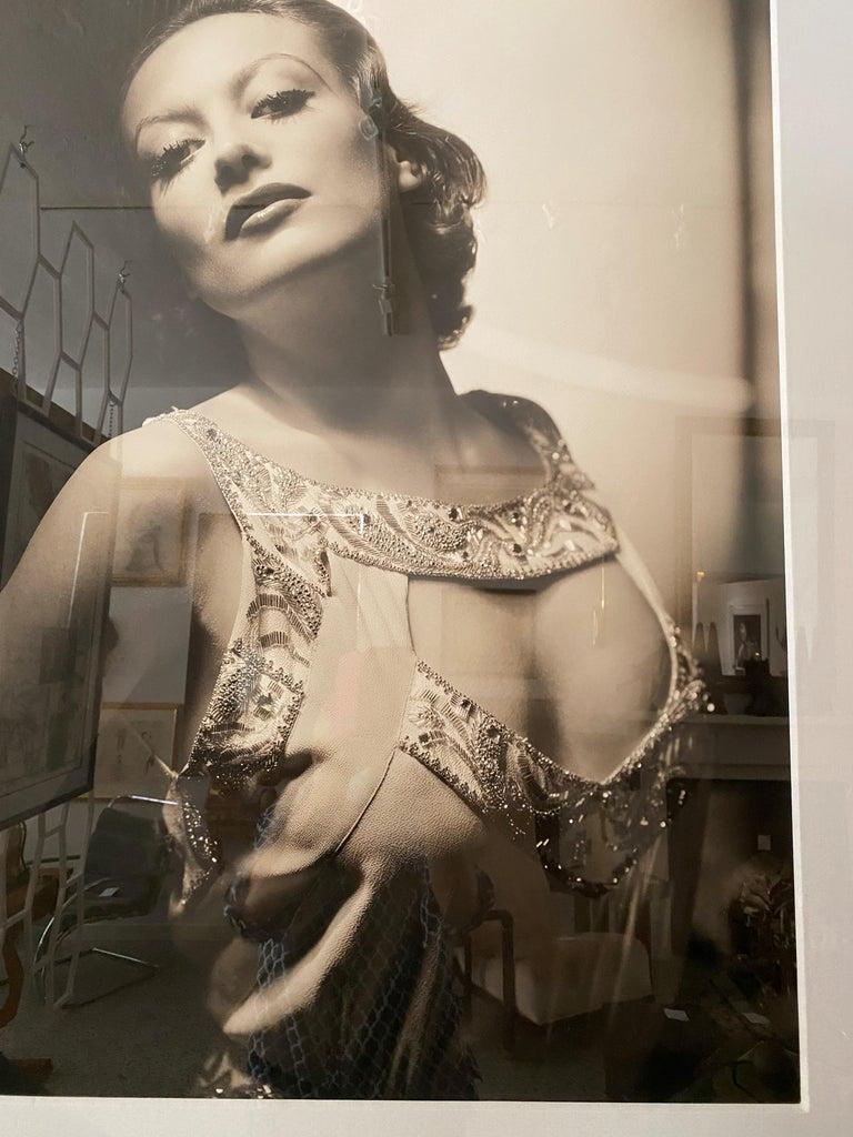 Paper George Hurrell Photograph of Joan Crawford