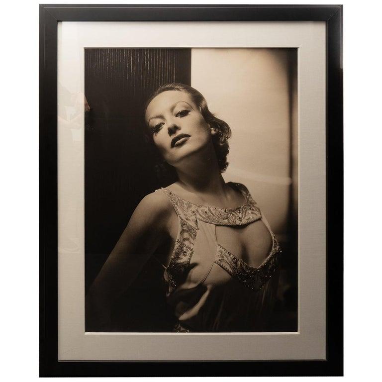 George Hurrell Photograph of Joan Crawford