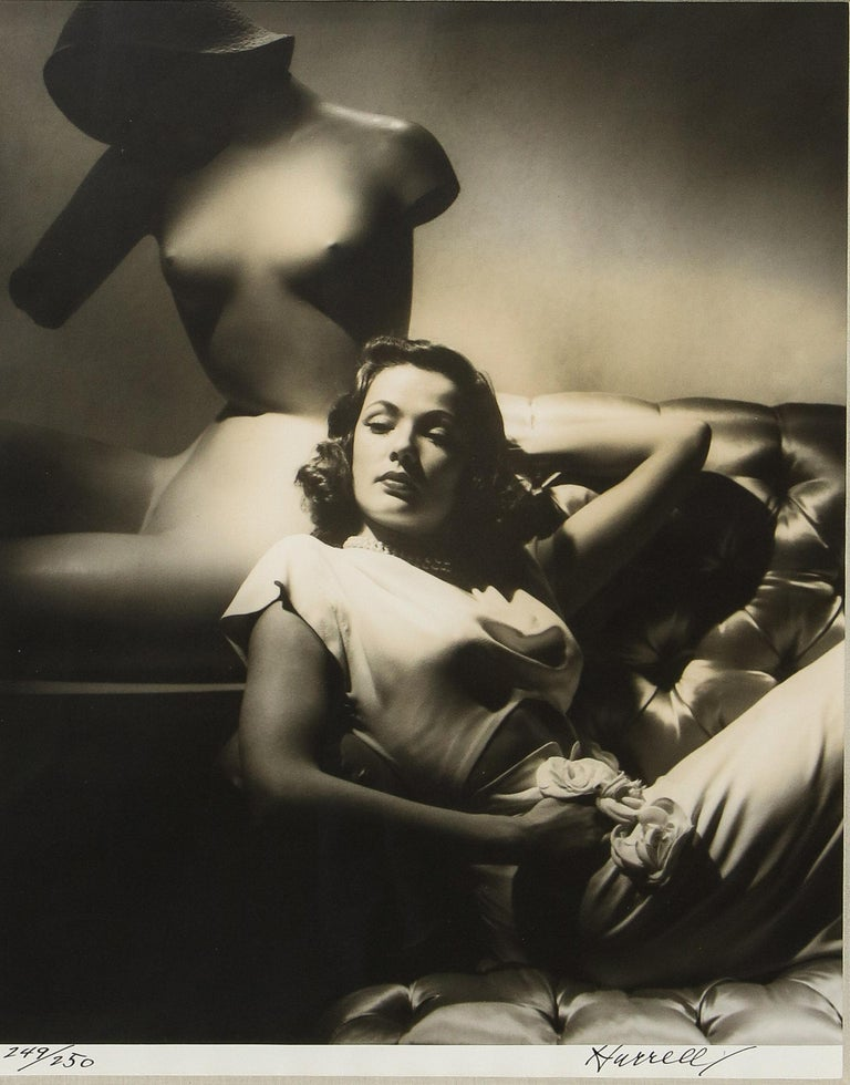 Gene Tierney - Photograph by George Hurrell