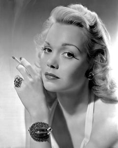 Jane Wyman Smoking Movie Star News Fine Art Print