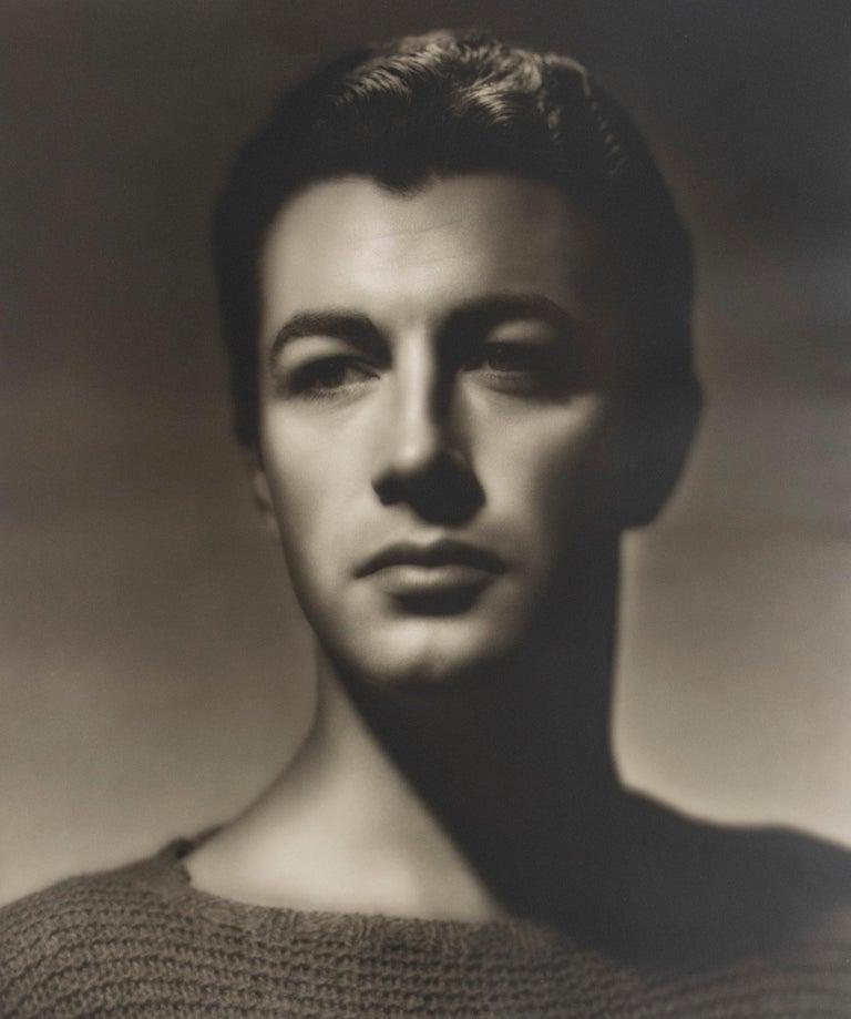 George Hurrell Portrait Photograph - Robert Taylor
