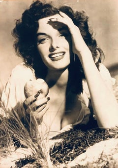 Vintage Jane Russell Photo-comes with Certificate of Authenticity