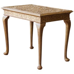 George I Gilt Gesso Side Table in the Manner of James Moore