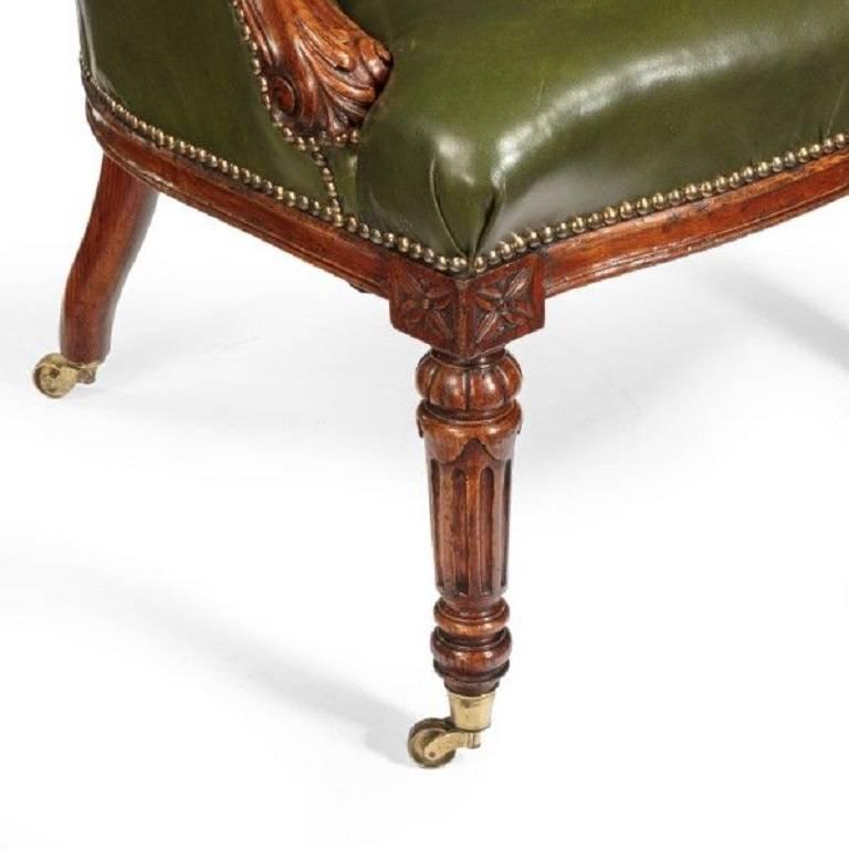 George I Walnut Armchair For Sale 2