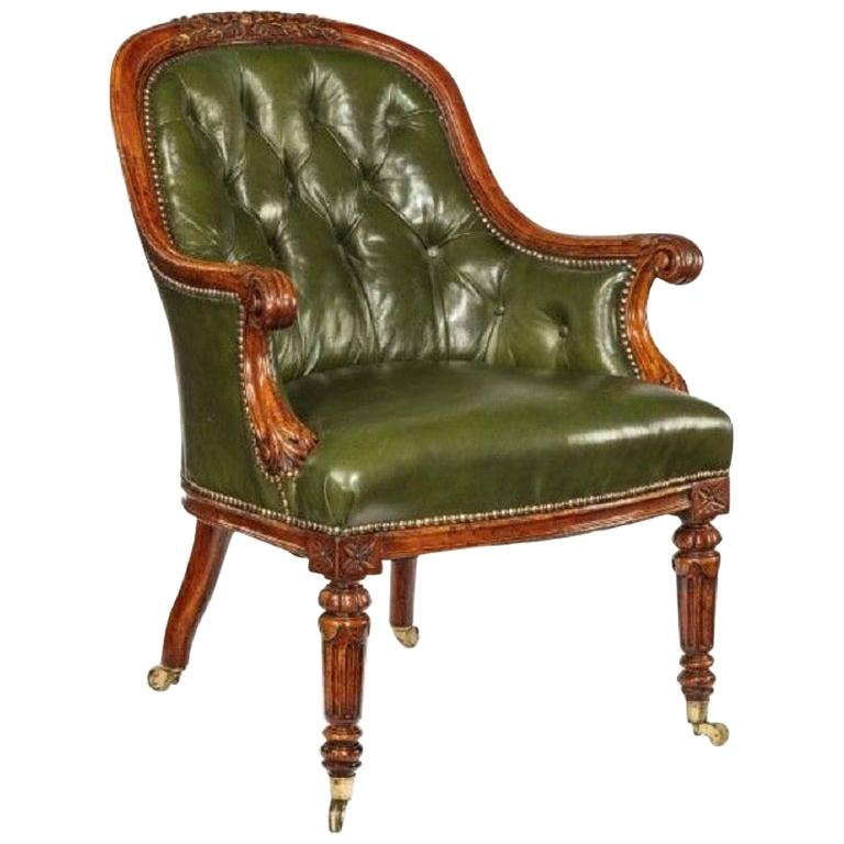 George I Walnut Armchair