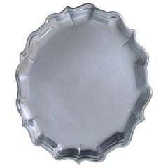 George II Antique Silver Salver