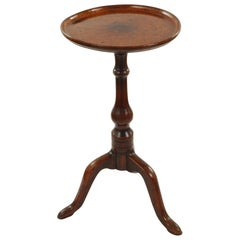 George II Burr Elm Tripod Table