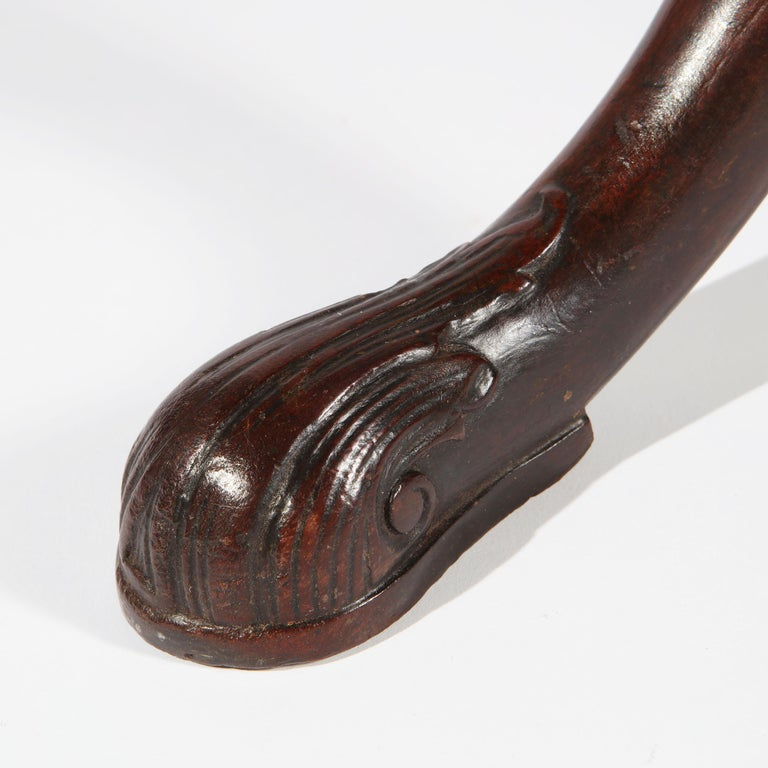 George II Chippendale Mahogany Tripod Table For Sale 2