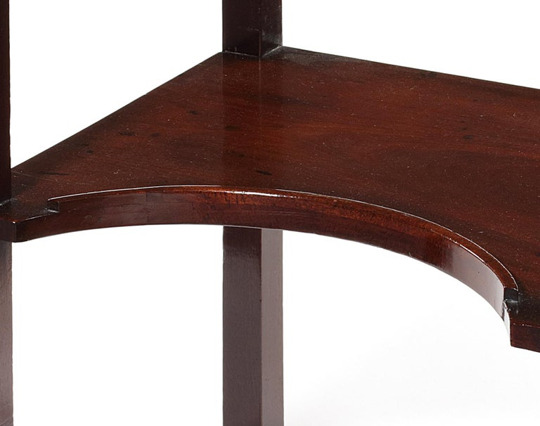 George III George II Mahogany Side or Writing Table Attributed to William Wilson For Sale