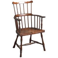 George II Mahogany Windsor Chair