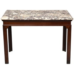 George II Marble Top Console