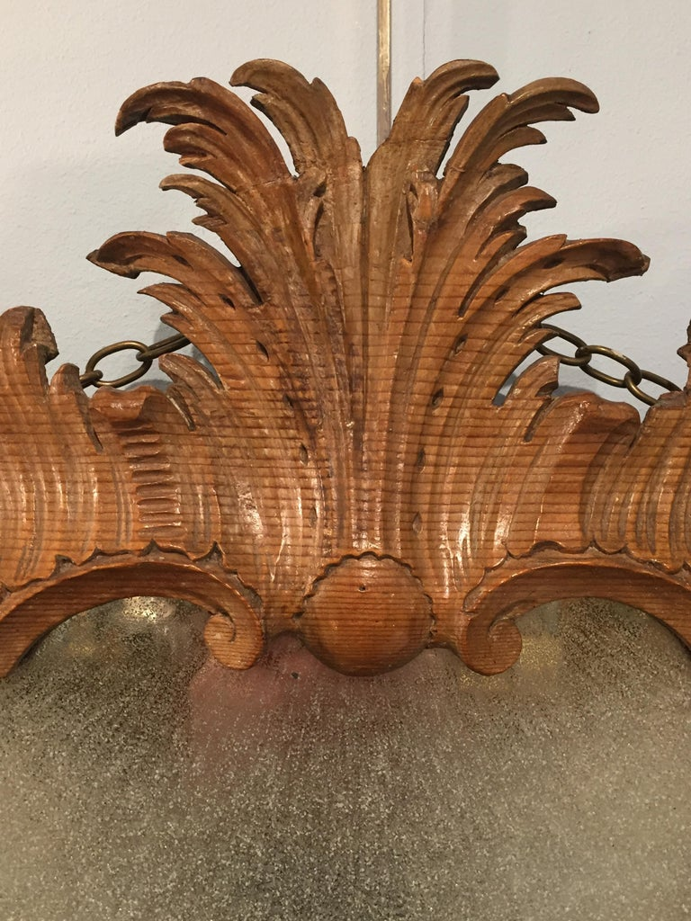 18th Century George II Period Rococo Carved Mirror Frame of Astonishing Quality and Detail For Sale