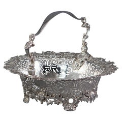 George II Silver Basket, London, 1739