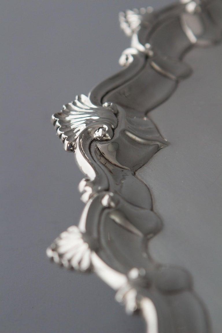 George II Silver Salver, Richard Rugg, London, 1759 For Sale 3
