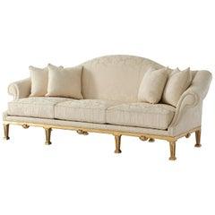 George II Style Camel Back Sofa