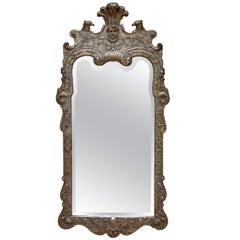 George II Style Gilt Mirror