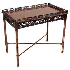 George II Style Mahogany Tea Table