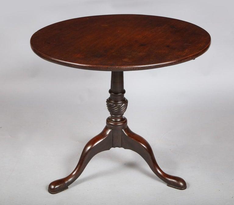 English George II Tripod Table For Sale