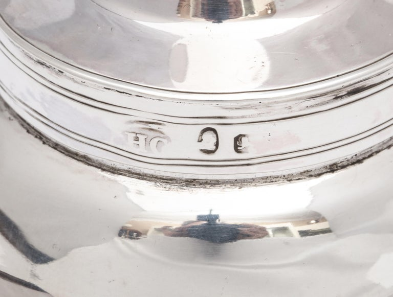 George III '1792' Sterling Silver Wine Funnel by Henry Chawner For Sale 6