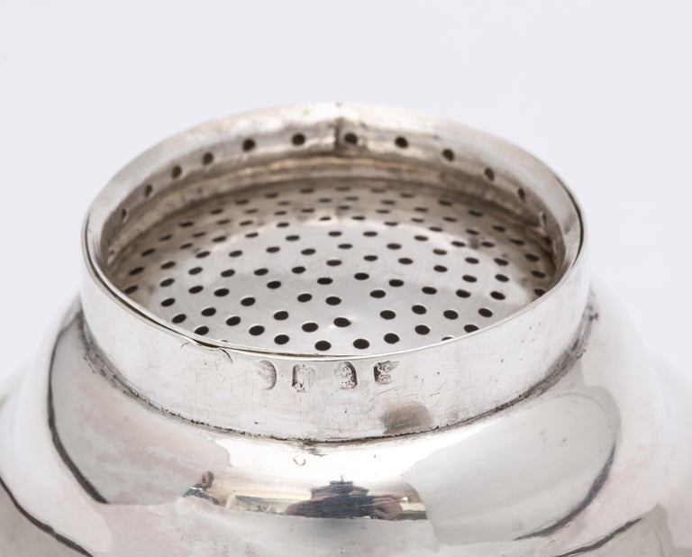 George III '1792' Sterling Silver Wine Funnel by Henry Chawner For Sale 8