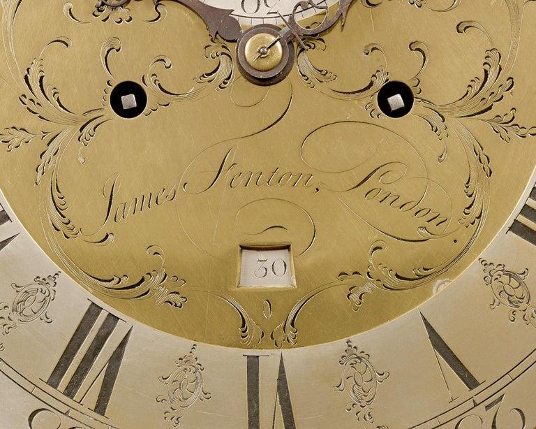 George III Adam and Eve Automaton Longcase Clock For Sale 1