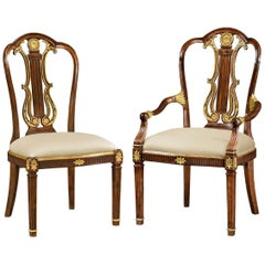 George III Adam Style Dining Chairs