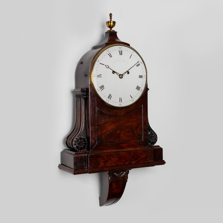 George III Architectural Clock by John Grant, London