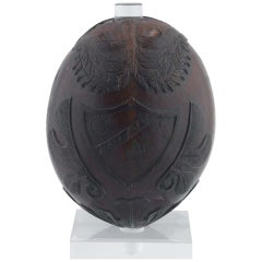 George III Coconut Flask